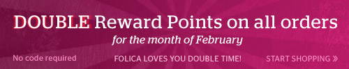 Double Rewards Points All February!