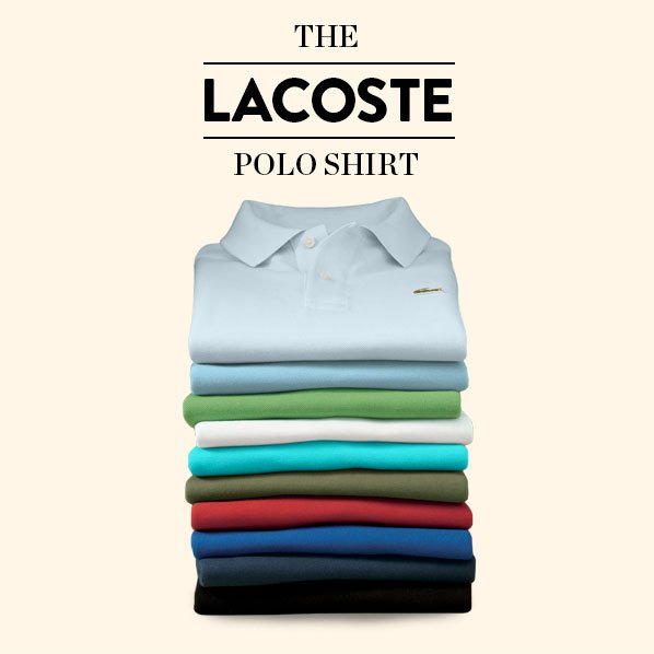 THE LACOSTE POLO SHIRT
