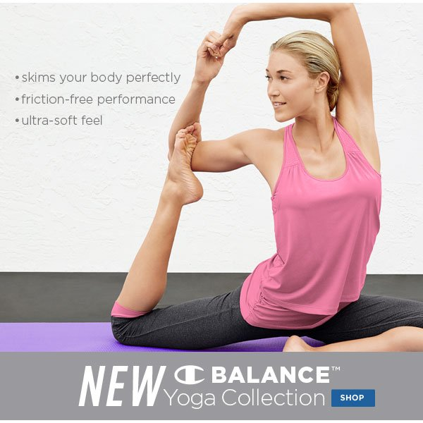 SHOP Balance Yoga Collection