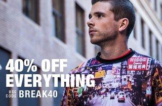 Break You Off: 40% Off