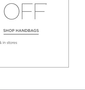 Up to 70% off Boots & Handbags