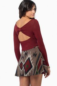 Back Bow Crop Top 23