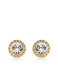Angelic Pierced Earrings, gold-plated