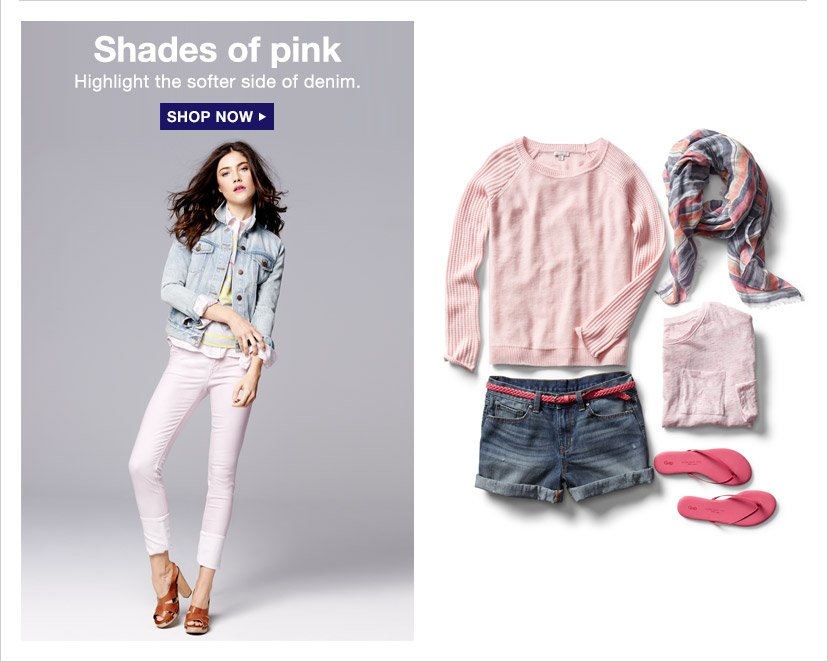 Shades of pink | SHOP NOW