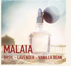 MALAIA BASIL - LAVENDER - VANILLA  BEAN