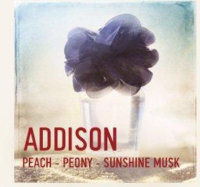 ADDISON PEACH - PEONY - SUNSHINE  MUSK