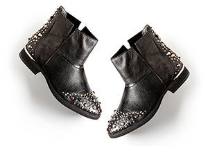 On the Edge: Shoes with Attitude