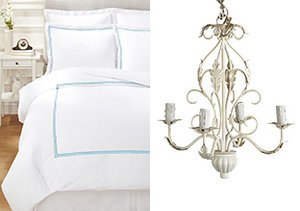 White at Home: Bedding & Décor