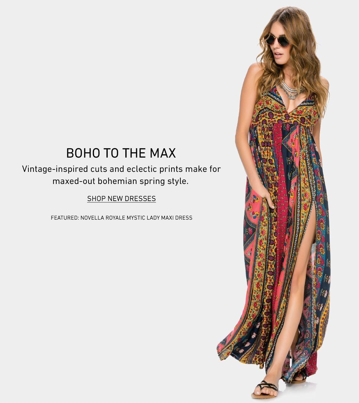 Boho To the Max: Shop New Dresses