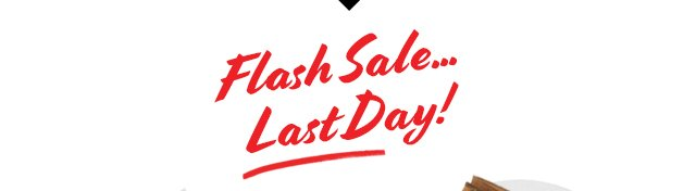 FLASH SALE... LAST DAY!