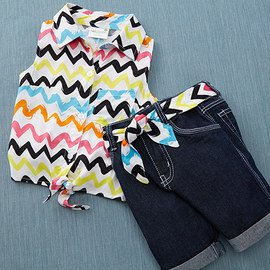 Playtime Prints: Girls' Casual Sets