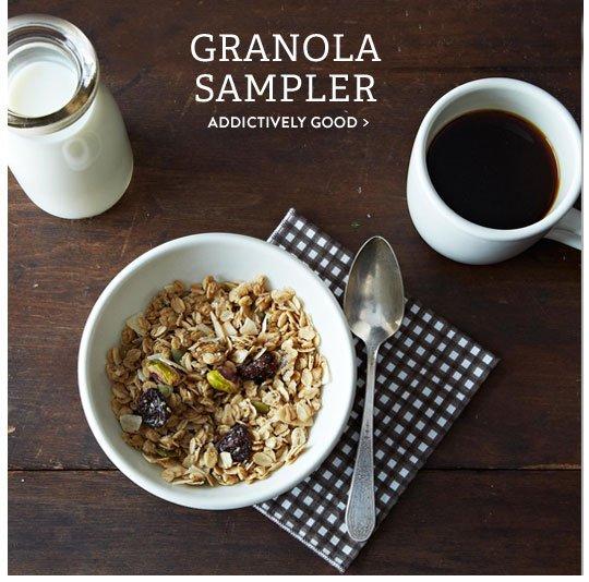 Granola Sampler
