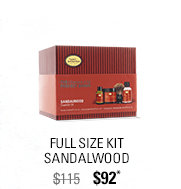 Full Size Kit Sandalwood