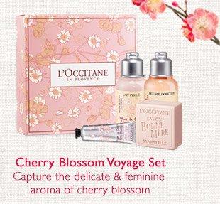 Cherry Blossom Voyage Set