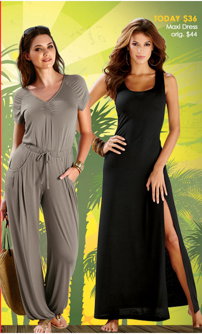 1 DAY Maxi Dress + Jumpsuits SALE! Up to 40% OFF - Take your wardrobe to the MAX!