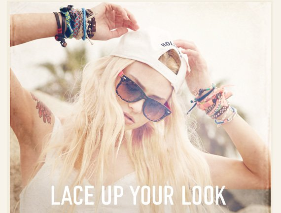 LACE UP YOUR LOOK