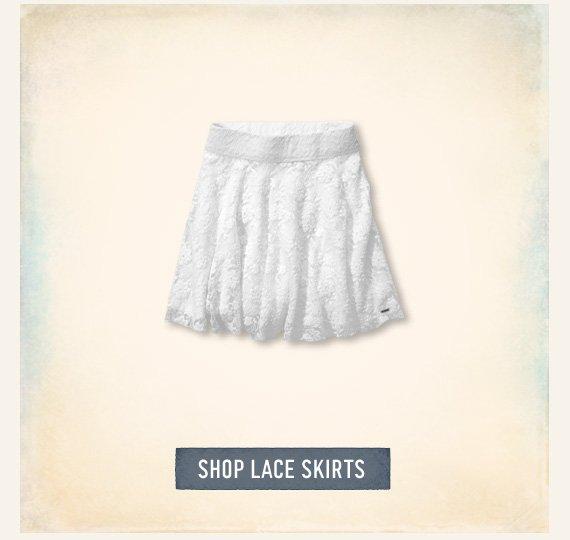 SHOP LACE SKIRTS