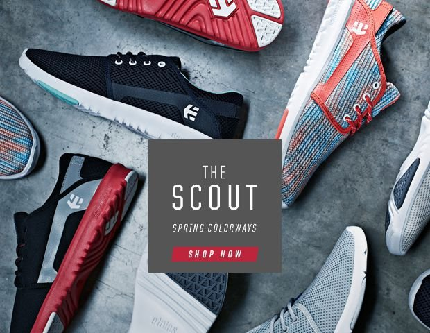 etnies Scout Sprong colorways