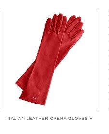 Italian Leather Opera Gloves