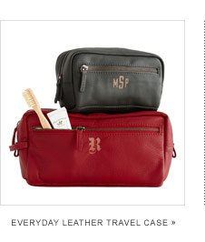 Everyday Leather Travel Case