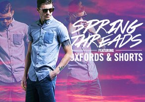 Shop Spring Threads ft. Oxfords & Shorts
