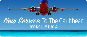 New Service to the Caribbean!