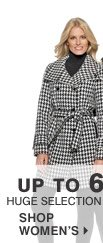 Up to 60% off Huge selection of outerwear  Shop women's