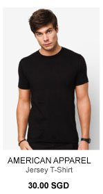 American Apparel Jersey T-Shirt for 30.00