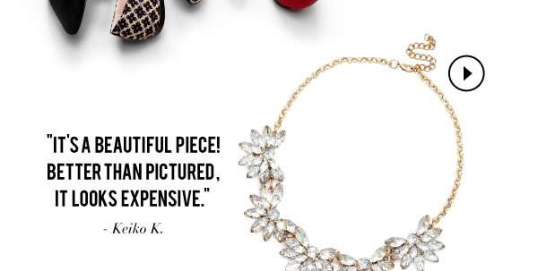 The Reviews Are In: Necklace