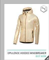 Opulence Hooded Windbreaker