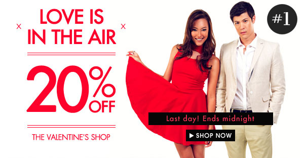 Valentine's Day - Get 20% off gift guide & lookbook!