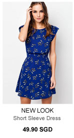 NEW LOOK Butterfly Dress - 49.90 SGD