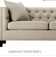 Lakewood tufted sofa >
