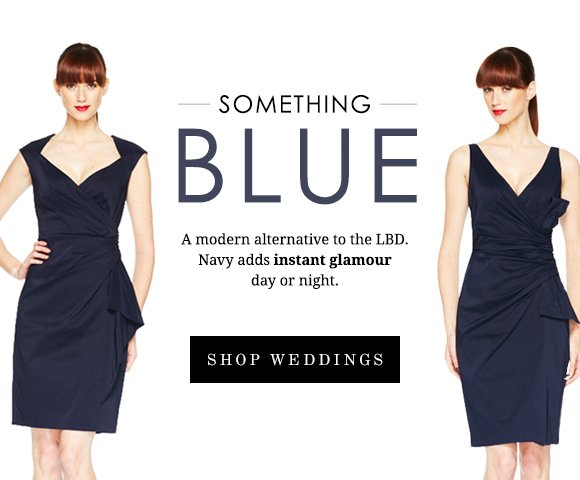 Something Blue: A modern alternative to the LBD