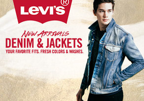 Shop New Arrivals: Levi's Denim & Jackets