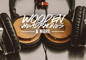 Shop LSTN Up: Wood Music Gear