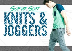Shop NEW Super Soft Knits & Joggers