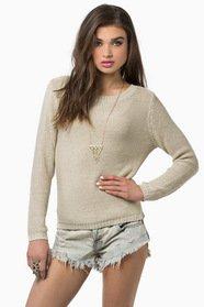 Take Me Somewhere Sweater 36