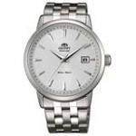 Orient ER2700AW Men's Symphony Automatic Stainless Steel White Dial Mechanical Watch