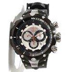 Invicta 11703 Men's Reserve Venom II Silver Dial Rubber Strap Chronograph Dive Watch
