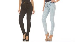 High-Waisted Skinnies, Shorts & more