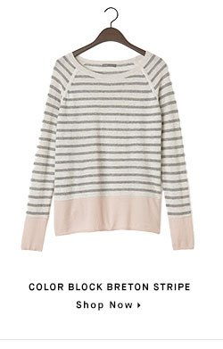 COLOR BLOCK BRETON STRIPE - Shop Now
