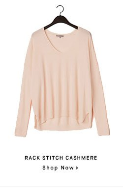 RACK STITCH CASHMERE - Shop Now