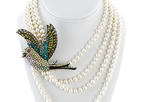 Pin It: Pearls & Brooches by Jardin