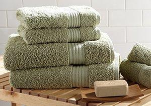 Plush Bath Towels