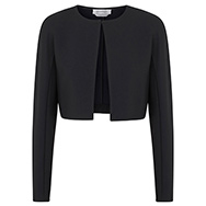 SPORTMAX - Cropped stretch crepe jacket