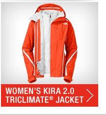 WOMEN'S KIRA 2.0 TRICLIMATE® JACKET, A7HZD1T