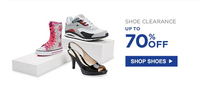 SHOE CLEARANCE | UP TO 70% OFF | SHOP SHOES