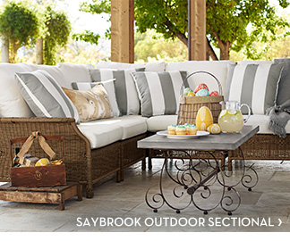 SAYBROOK OUTDOOR SECTIONAL