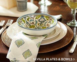 SEVILLA PLATES & BOWLS
